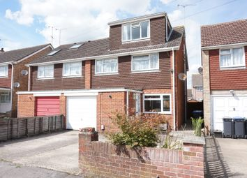 Thumbnail 4 bed semi-detached house for sale in Longfield Close, Salisbury