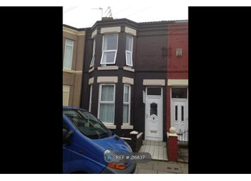 Thumbnail 4 bedroom terraced house to rent in Glamis Road, Liverpool