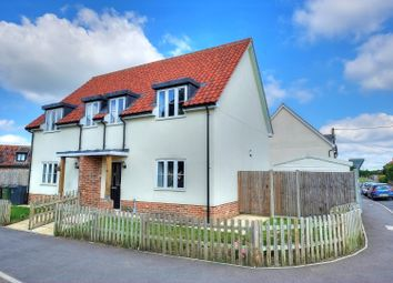 Thumbnail 3 bed semi-detached house for sale in Crown Street, Norwich