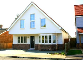 Thumbnail 4 bed detached house for sale in St. Marys Road, Aingers Green, Colchester