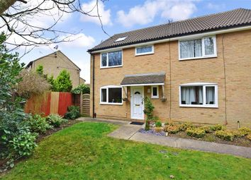 Thumbnail 4 bed semi-detached house for sale in Seven Acres, New Ash Green, Longfield, Kent