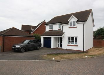 Thumbnail 4 bed detached house for sale in Oak Tree Close, Broadclyst, Exeter