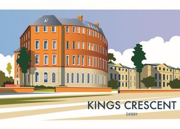 Thumbnail 2 bed flat for sale in (Apt 16) Kings Crescent, King Street, Derby