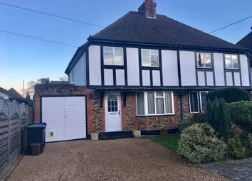 Thumbnail 3 bed semi-detached house to rent in Sunset View, Robert Road, Slough