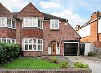 Thumbnail 4 bed semi-detached house to rent in Dickerage Road, Kingston Upon Thames