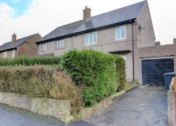 Thumbnail 3 bed semi-detached house for sale in Tedder Avenue, Harpur Hill, Buxton