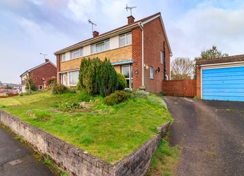 Thumbnail 3 bed semi-detached house for sale in Rowhill Avenue, Aldershot
