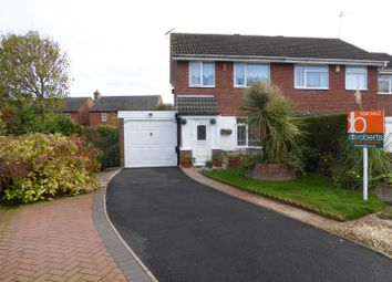 Thumbnail 3 bed semi-detached house for sale in Walker Crescent, St. Georges, Telford