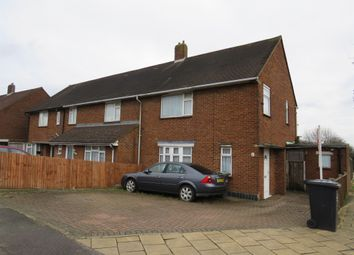 Thumbnail 3 bed end terrace house for sale in Felmersham Road, Luton