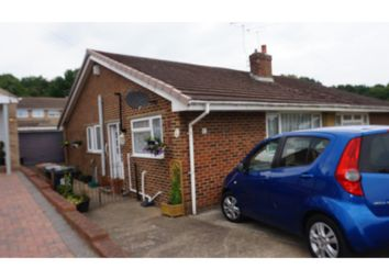 Thumbnail 2 bed semi-detached bungalow for sale in Quantock Drive, Ashford