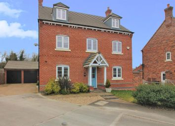 Thumbnail 5 bedroom detached house for sale in Pottery Lane, Lount, Ashby-De-La-Zouch