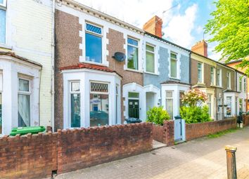 Thumbnail 3 bed terraced house for sale in Hunter Street, Cardiff