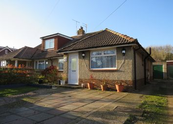 Thumbnail 3 bed semi-detached bungalow for sale in Boundary Road, Lancing