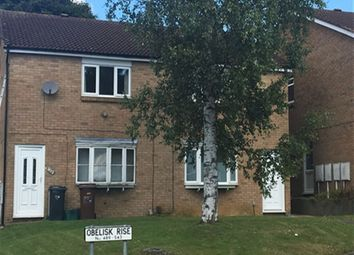 Thumbnail 2 bedroom flat to rent in Obelisk Rise, Kingsthorpe, Northampton