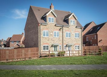 Thumbnail 4 bed semi-detached house for sale in Aldrin Close, Spalding