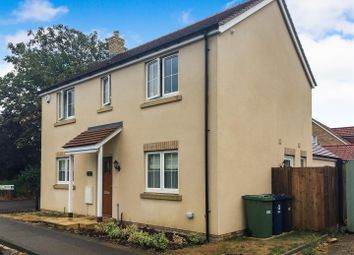 Thumbnail 3 bed detached house for sale in Woodhurst Road, Old Hurst, Huntingdon