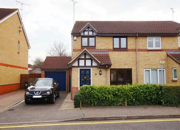 Thumbnail 3 bed semi-detached house to rent in Kestrel Grove, Rayleigh, Essex