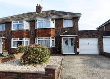 Thumbnail 3 bedroom semi-detached house for sale in Grange Drive, Stratton St Margaret, Swindon
