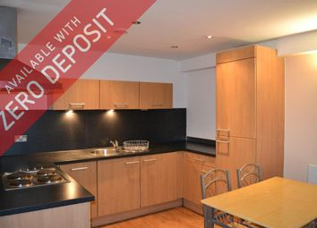 Thumbnail 2 bed flat to rent in The Danube, City Road East, Manchester City Centre, Manchester