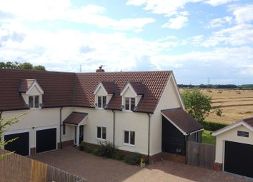 Thumbnail 4 bed detached house for sale in Rectory Road, Wyverstone, Stowmarket