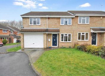 Thumbnail 3 bed semi-detached house for sale in Heathcote Close, Shaw, Swindon