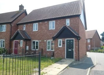 Thumbnail 2 bed semi-detached house for sale in Chopyngs Dole Close, Sprowston, Norwich