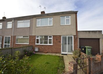 Thumbnail 3 bed end terrace house for sale in Holmwood Close, Winterbourne, Bristol