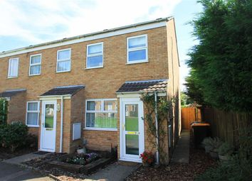 Thumbnail 2 bed end terrace house for sale in Crediton Close, Bedford