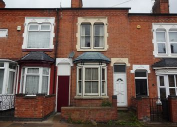 Thumbnail 2 bed terraced house for sale in Newport Street, Off Fosse Road North, Leicester