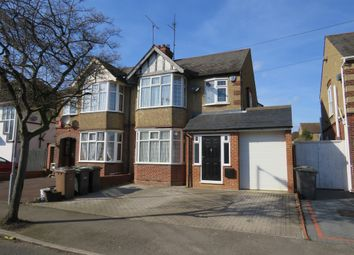 Thumbnail 3 bed semi-detached house for sale in Cranleigh Gardens, Luton