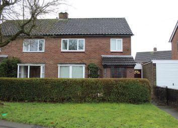 Thumbnail 3 bed semi-detached house for sale in York Road, Harlescott Grange, Shrewsbury