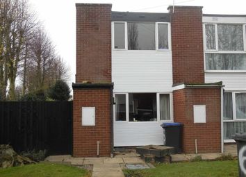 Thumbnail 2 bed town house to rent in Castle Close, Earl Shilton, Leicester