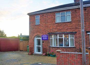 Thumbnail 3 bedroom semi-detached house for sale in Stuart Close, Peterborough