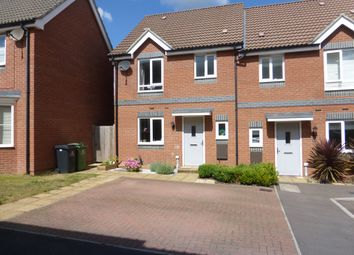 Thumbnail 3 bed semi-detached house for sale in Crossbill Close, Costessey, Norwich