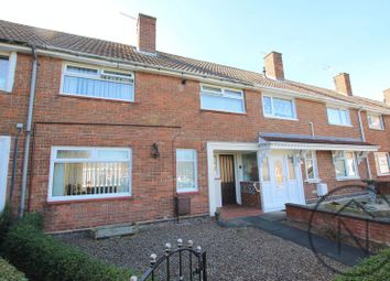Thumbnail 3 bed terraced house for sale in Burdon Close, Newton Aycliffe