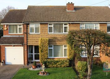 Thumbnail 4 bed semi-detached house for sale in Stratford Drive, Wooburn Green, High Wycombe