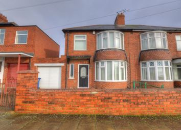 Thumbnail 3 bed semi-detached house for sale in Gretna Road, Newcastle Upon Tyne