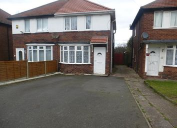 Thumbnail 2 bed property to rent in Aston Road, Tividale, Oldbury