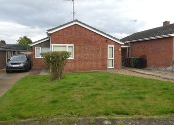 Thumbnail 3 bedroom detached bungalow to rent in Cherry Close, Marham, King's Lynn