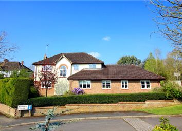 Thumbnail 4 bedroom detached house for sale in Rowhills Close, Farnham, Surrey