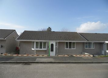 Thumbnail 2 bed semi-detached bungalow to rent in Fortescue Close, Foxhole, St Austell, Cornwall