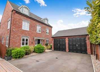Thumbnail 5 bed detached house for sale in Chedworth Close, Peterborough