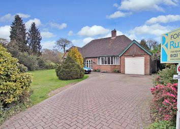 Thumbnail 3 bed detached bungalow for sale in Ashlawn Crescent, Solihull