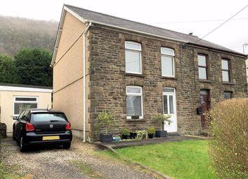 Thumbnail 3 bed semi-detached house for sale in Edward Street, Alltwen, Pontardawe, Swansea