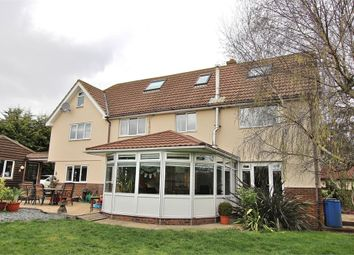 Thumbnail 4 bed detached house for sale in Ongar Road, Dunmow