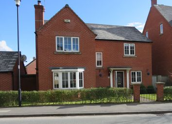 Thumbnail 4 bed detached house for sale in Coton Park Drive, Rugby