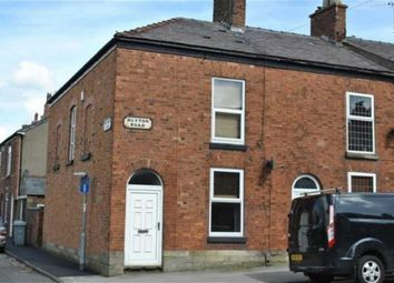 Thumbnail 2 bed end terrace house to rent in Buxton Road, Macclesfield, Cheshire