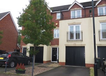 Thumbnail 3 bedroom town house for sale in Pelham Bend, Coventry