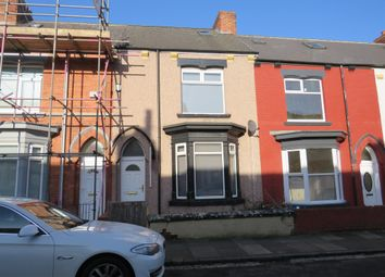 Thumbnail 3 bed terraced house for sale in Milton Road, Hartlepool