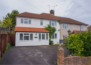 Thumbnail 4 bed semi-detached house for sale in Aldrich Crescent, Croydon